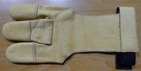 Deerskin Glove Yellow