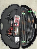 PSE Stinger X Compound Bow Pro Kit with Hard Case