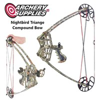 """Triangle Compound Bow 27"""" 50#"""