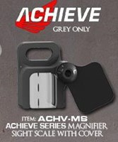 Axcel Achieve Magnifier Sight Scale Grey