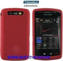BlackBerry 9550 Storm 2 OEM Red Silicone Case HDW-27287-003