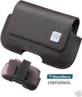 BlackBerry Storm Series OEM Brown Horizontal Case HDW-18975-002