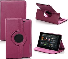 Asus Nexus 7 2013 Hot Pink Rotational Case with Stand