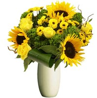 Bright Yellows, Bunches From $55