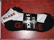 Globe Socks 5 PACK Ankle