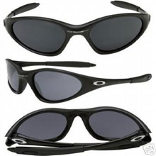 OAKLEY SI Minute Sunglasses Black Grey lens