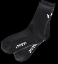 West Marathon Socks Black