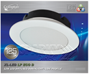12W WL-LED LP Eco D - 3000K Crompton (XL-FD12W)