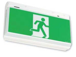 STANILITE - PQF 1x10w Maintained Emergency Exit Light - PQF110M-1BOX