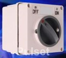 IP66 3 pole 20amp isolator switch IPS3P20