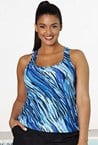 Aquabelle - Racerback Tankini - Sizes 10 - 24 (size 14 sold out)