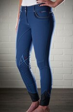 My LeMieux Bascule Breeches Ice Blue/Dark Grey