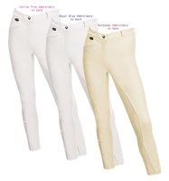 Equetech Junior Close Contact Full Seat Breeches