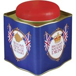 SALE PRICE..Britons National Drink Tea Caddy Tin