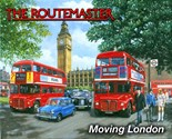 Routemaster Bus (KW) - A5 Metal Wall Sign