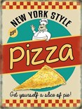 NEW IN.. Pizza -  Metal Wall Sign (3 sizes)