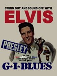 Elvis - G.I. BLues Movie Poster - A3 Metal Sign