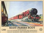 Scot Passes Scot Metal Wall Sign (2 sizes)