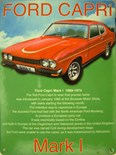 Ford Capri MK1 - A3 Sign