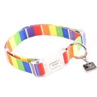 Dogo NY Rainbow Dog Collar