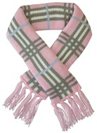 Handknitted Wool Knightsbridge Pet Scarf (Pink)