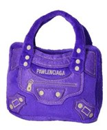 Pawlenciaga Designer Handbag Dog Toy