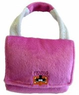 Fendig Designer Handbag Dog Toy