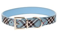 DOGUE Plaid Collar (Blue)