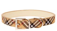 DOGUE Plaid Collar (Beige)