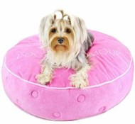 Round Glam Crown Bed (Pink)