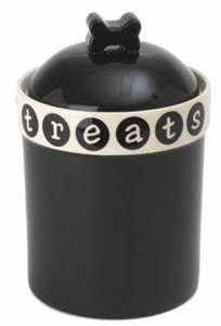 Pooch Basics Ceramic Treat Jar