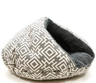 Burger Bed Modern Grey