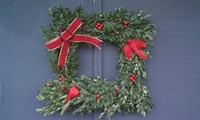 Square Wreath with Birds-18""