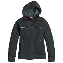 Musto Evolution Logo Hoodie Womens Black CLEARANCE