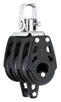 Harken 29mm Triple Swivel Carbo Block w/ Becket HK345