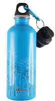 CHEEKI 500 ml WILDGRASS STAINLESS STEEL WATER BOTTLE BPA Free Loop Lid and Sports Lid
