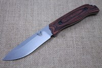 BENCHMADE SADDLE MOUNTAIN SKINNING KNIFE - WOOD