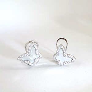 New! Mother of Pearl and 'Diamond' Butterflies