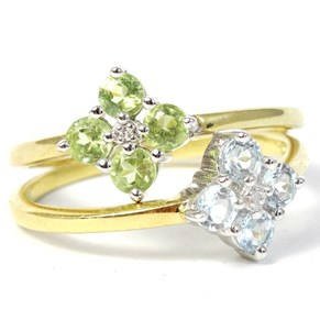The Lucky Ring - with a REAL diamond