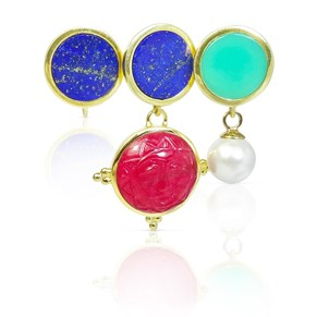 The Button Studs With A Twist