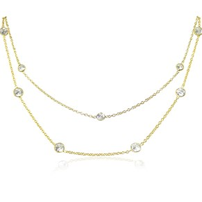 The Famous Gold 'Diamonds By The Metre' Necklace