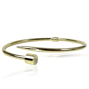 The 9Carat Gold Hardware Bracelet