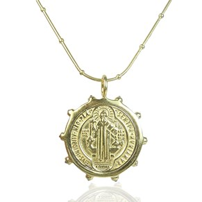 The 'Diamond' Gold Coin Pendant...