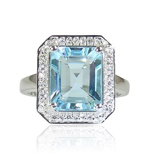 The Truly Amazing Blue Topaz Ring