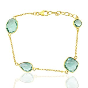 Blue/Green Quartz Bracelet