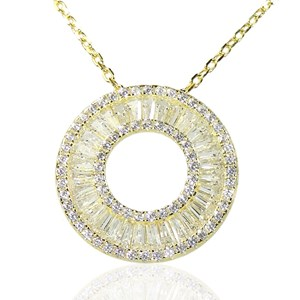 The Deco Disc Pendant
