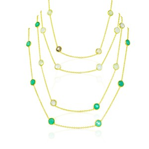 The Short Gems By The Yard Necklace