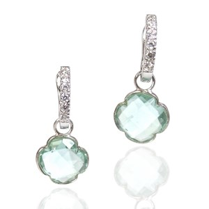 The Silver Clover Detachable Gemstones