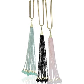 The Tassel Pendant & Snake Chain