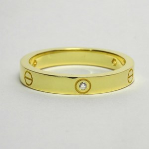 New - The Gold Love-Lock Ring